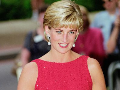 Princess Diana in Washington in 1997.