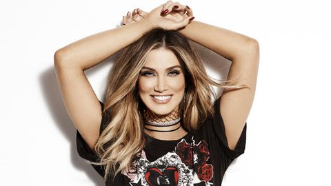 Delta Goodrem The Voice 2017.