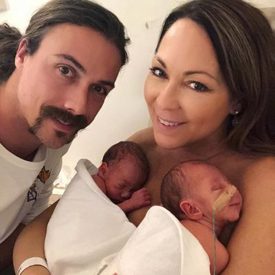 Tania Zaetta welcomes twins via IVF at  48