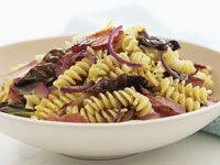 Fusilli with radicchio and pancetta