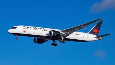 Air Canada plane file 2