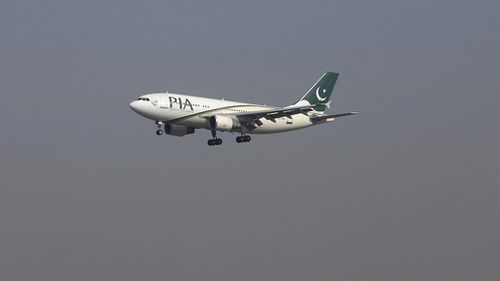 UK military jets escort civilian plane to London airport