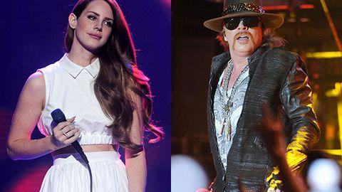 Lana Del Rey is dating Axl Rose?