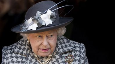 Queen forced to miss church