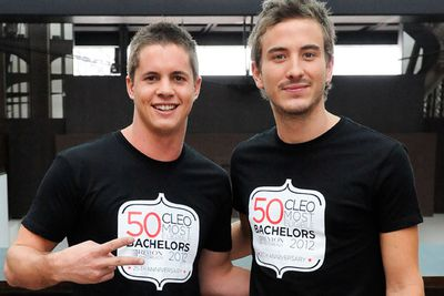 He was also a contender in CLEO Bachelor of the Year in 2012 shortly after being awarded the Heath Ledger scholarship in 2011.<br/><br/>Image: Johnny Ruffo and Ryan Corr at the CLEO Bachelor of the Year 2012 launch / Snapper