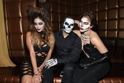 <p>All hail Halloween when beauty addicts everywhere can ditch pretty and opt for scary instead. </p> <p>Whether you&rsquo;re thinking a sultry zombie look like actress Nicole Scherzinger (left) or matching sugar skulls like Casper Smart and Jennifer Lopez  (since their split Halloween might be even scarier this year) we&rsquo;ve collected Halloween how-to inspiration for you.&nbsp;</p> <p>All you need is a steady hand, some imagination and war paint galore. Click through our slide show for astonishing celebrity transformations (Heidi Klum unrecognisable as a cartoon character) to elaborate instagram inspiration and beauty buys galore.&nbsp;</p>
