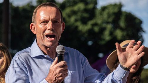 Tony Abbott has refused to register as a foreign agent.