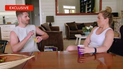 Exclusive: Melissa and Bryce debrief after Bryce's shock act