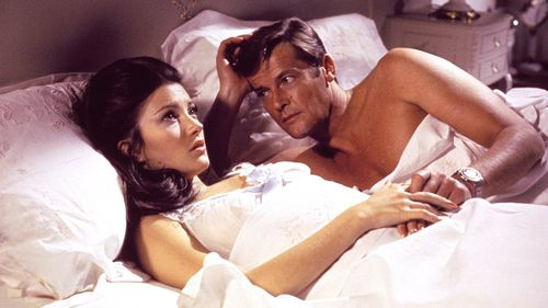 Sir Roger Moore was best known for his role at James Bond. (AAP)