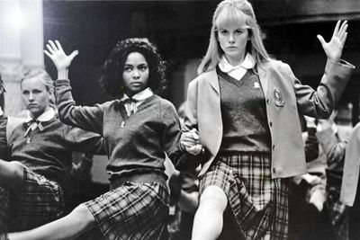 Several years after attending North Sydney Girls' High School, these BFFs (the one on the right and the one on the far left) co-starred in the 1991 film <i>Flirting</i>.