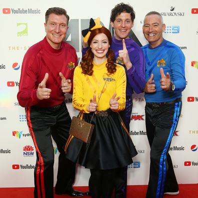 The Wiggles swap the Big Red Car for the big red carpet at the 2019 ARIA Awards 2019.