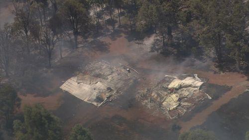 WA bushfire.