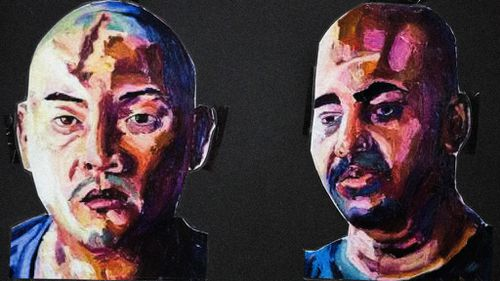 Myuran Sukumaran's final paintings arrive back in Australia
