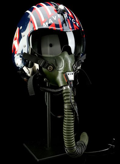 Top Gun helmet up for auction