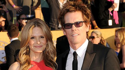 Kevin Bacon and his wife Kyra Sedgwick are distant cousins