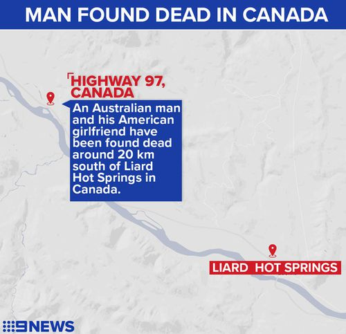 Australian family devastated after son and girlfriend found murdered beside Canadian highway