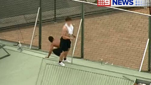 The incident happened just after 4pm. (9NEWS)