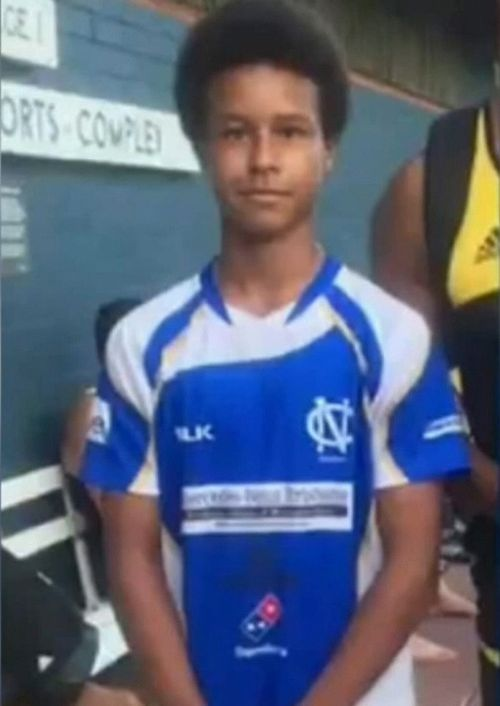 Alex Clark, 15, remains in hospital - there is fear he may not walk again. Picture: 9NEWS