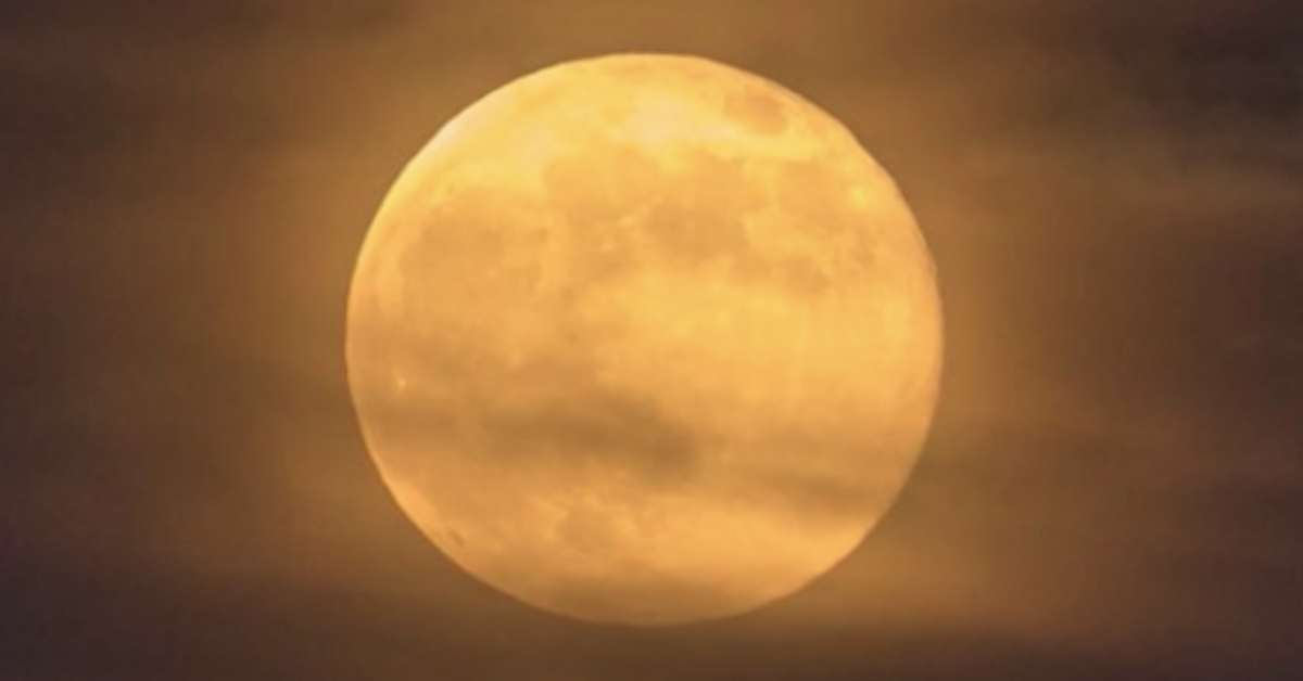 Full moons in October: Harvest moon tonight and a rare blue moon on Halloween – 9News