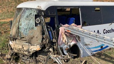 Several injured as bus crashes in rural NSW