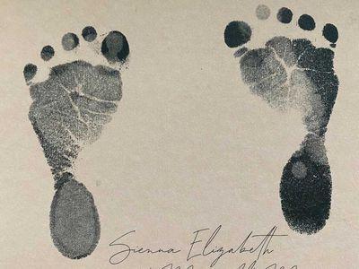 Baby Sienna is born, September 2021