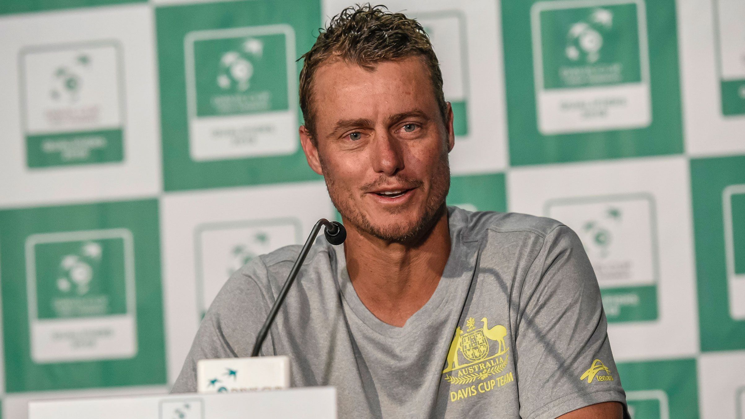 Lleyton Hewitt gives stirring speech ahead of Australia vs Bosnia Herzegovina Davis Cup tie