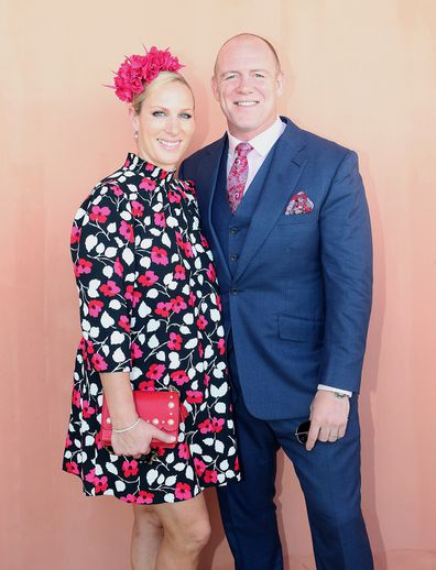 Zara and Mike Tindall on the Gold Coast