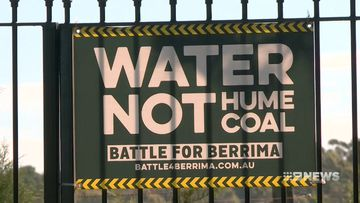 protests against the proposed coal mine in berrima