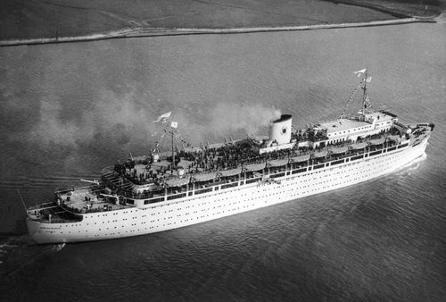 Death toll of World War II sea disaster six times greater than Titanic sinking