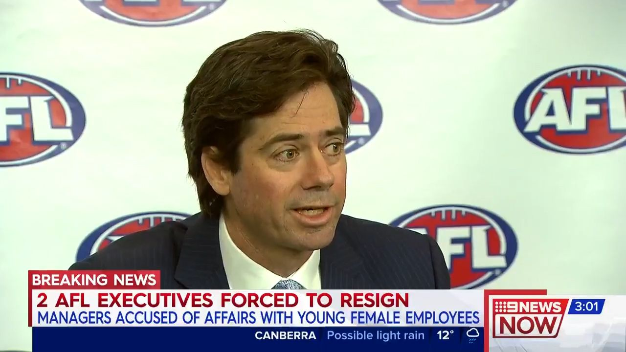 Affairs at AFL rocks sport, McLachlan