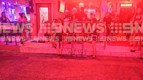 Mr Robb died in hospital after the incident at the Ruby Club. (9NEWS)