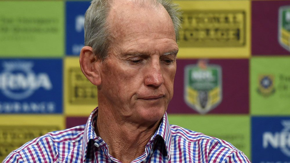 NRL news: Brisbane Broncos coach Wayne Bennett lashes Cronulla over Jack Bird's shoulder injury