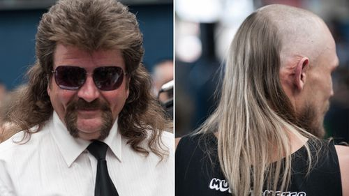 Mr Manuel, who flew his luscious hair from Gippsland to Kurri Kurri, said he was just happy to be a part of the festival. (AAP)