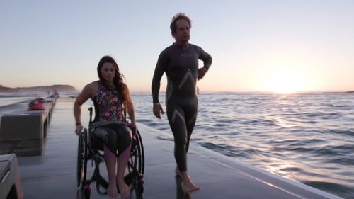 From that moment on, Parker began channelling her inspirational determination. (60 Minutes)