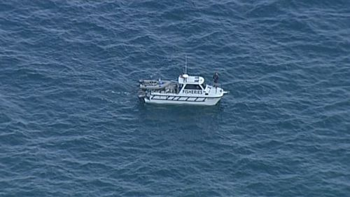 Rescue crews are asking that local fishers and members of the public avoid the waters near the whale for its safety and their own.