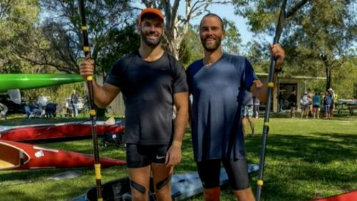 Jordan Kelly (right) and Jack McDonald were believed to be out training for a sports event.