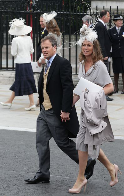 Bradby and his wife Claudia attend the wedding of the Duke and Duchess of Cambridge.