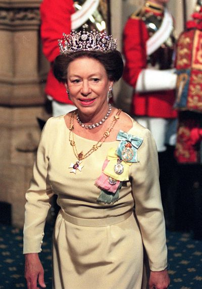 Princess Margaret at the State Opening of Parliament, May 1997