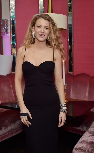 Blake Lively at Lorraine Schwartz 'The Eye Bangle' for Against Evil Eye Collection launch in Los Angeles