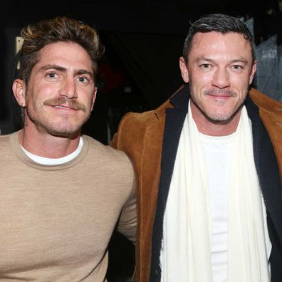 Luke Evans seemingly splits from Rafa Olarra.