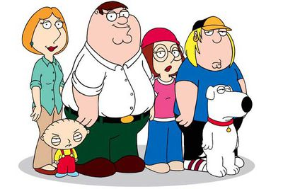 <B>Nominated for...</B> Outstanding comedy series for <I>Family Guy</I>, in 2009.<br/><br/><B>Why it's bad:</B> At its best <I>The Simpsons</I> never managed to squeeze into the outstanding comedy series category, yet the mediocre seventh season of <I>Family Guy</I> somehow managed to. Its crude, mean-spirited humour, shock tactics and endless pop-culture references probably aren't the qualities Emmy awards are meant to celebrate.