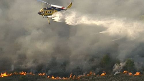 More than 800 blazes have ravaged Queensland in the past week.