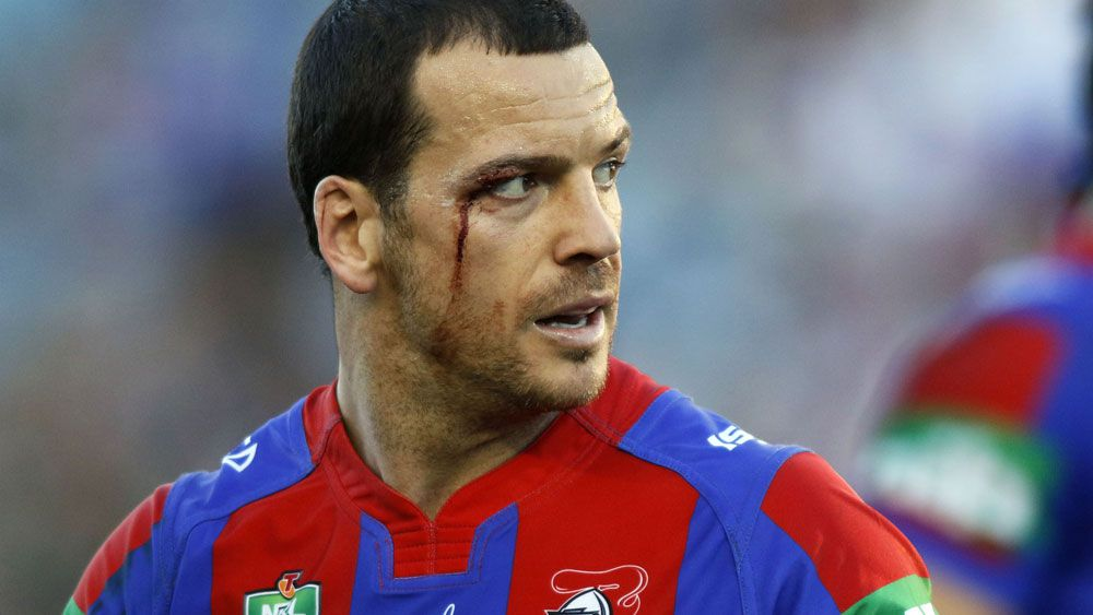 Jarrod Mullen's positive drug test has piled further pain on the Knights. (AAP)