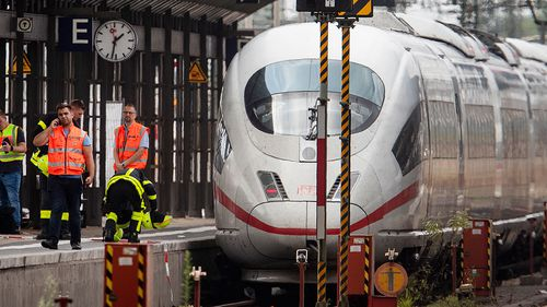 Boy killed after being pushed under train by random man in Germany