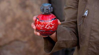 Disney's Star Wars: Galaxy's Edge Coca Cola bottles