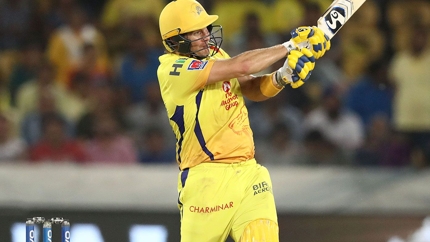Shane Watson in action in the IPL.