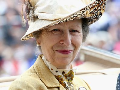 Princess Anne at Royal Ascot 2015.