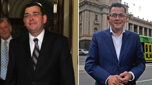 It seems Victorians have noticed Daniel Andrews' weight loss since he became Labor leader. (AAP)
