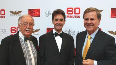 George Negus, Ian Leslie and Ray Martin.