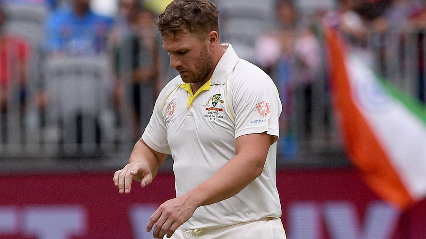 Australia v India: Business as usual for bruised Aaron Finch